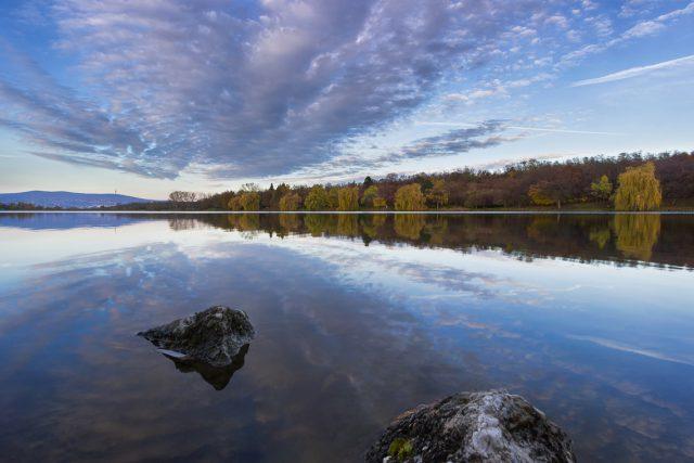 Autumn of Lake Malomvölgy by Norbert Fritz