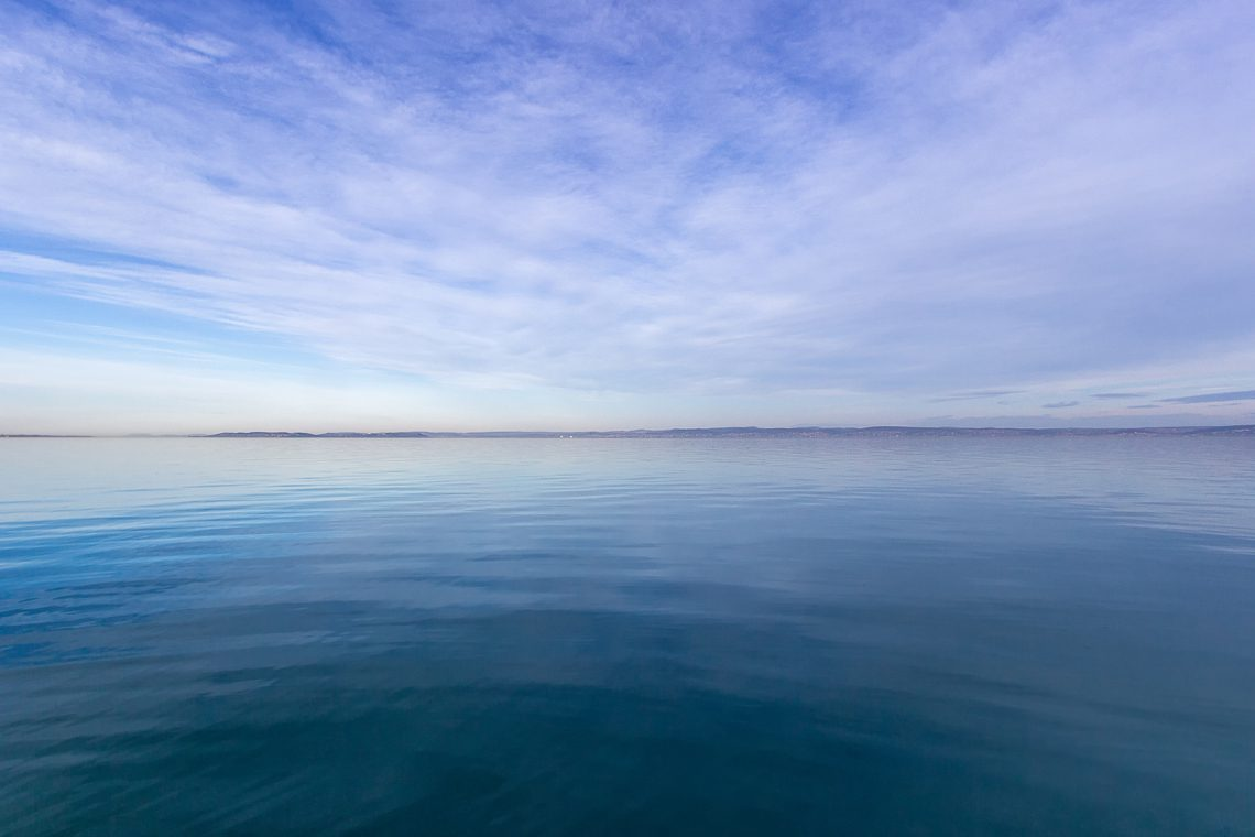 Blue horizon by Norbert Fritz