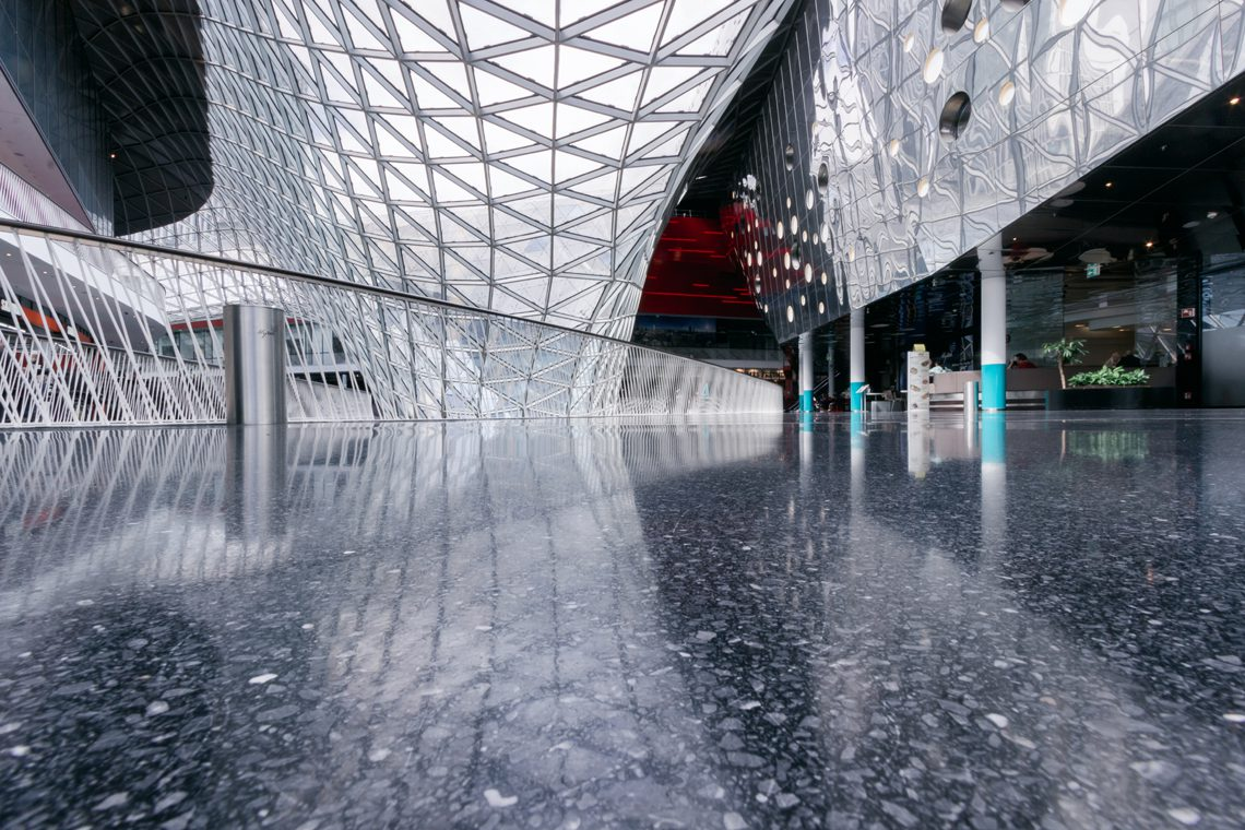 Futuristic architecture 10 by Norbert Fritz