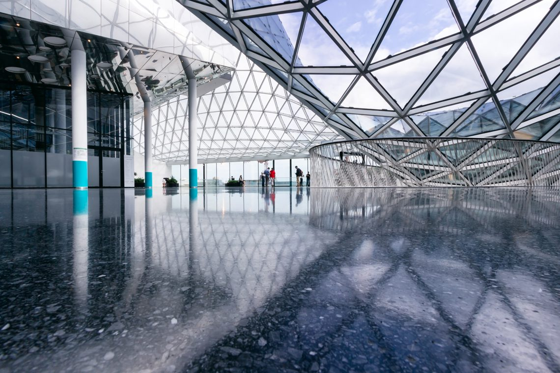 Futuristic architecture 12 by Norbert Fritz