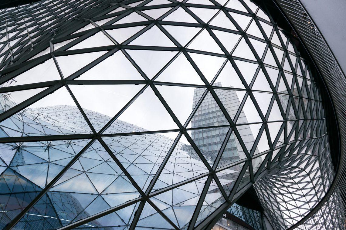 Futuristic architecture 2 by Norbert Fritz