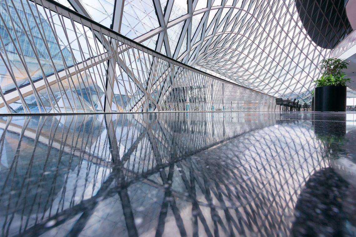 Futuristic architecture 3 by Norbert Fritz