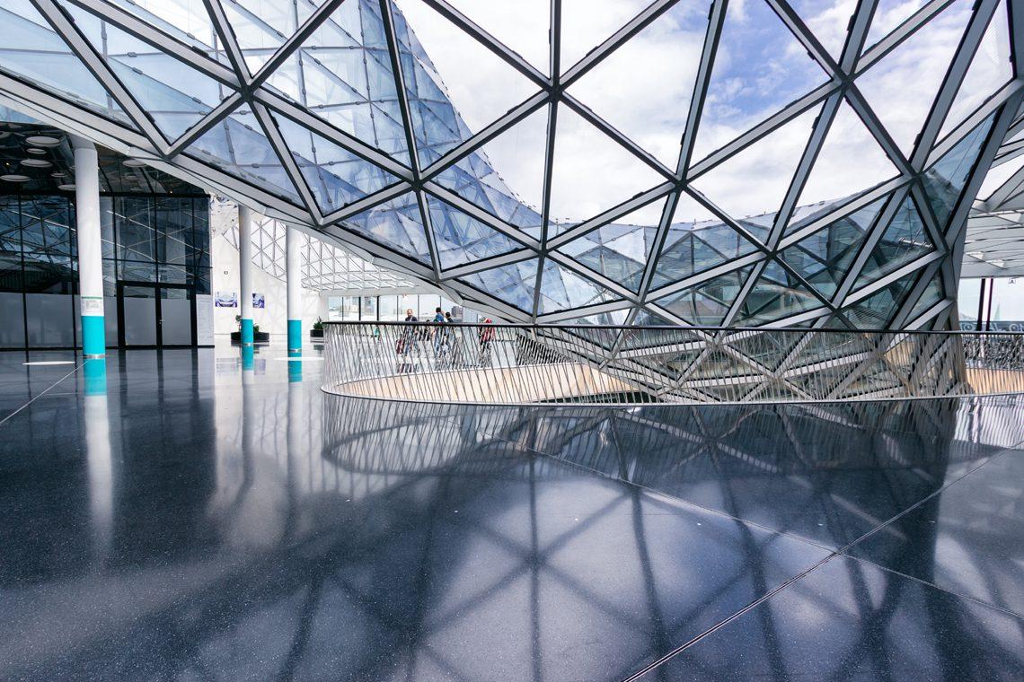 Futuristic architecture 5 by Norbert Fritz