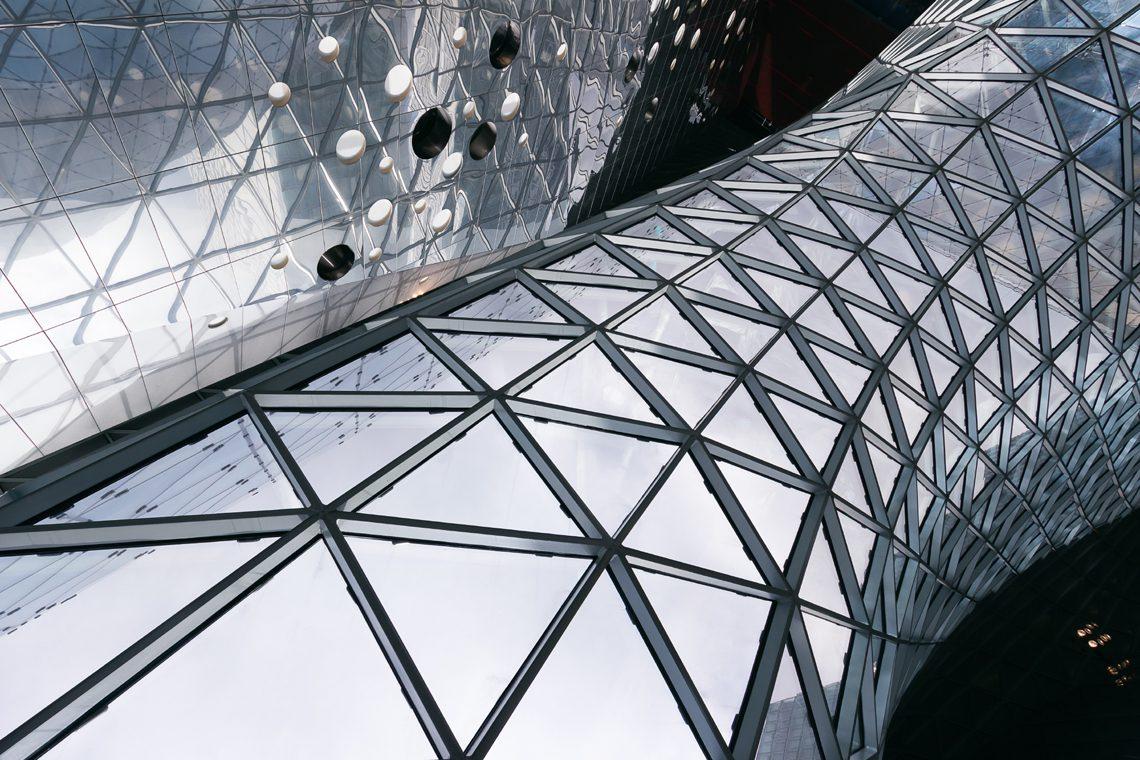 Futuristic architecture 6 by Norbert Fritz