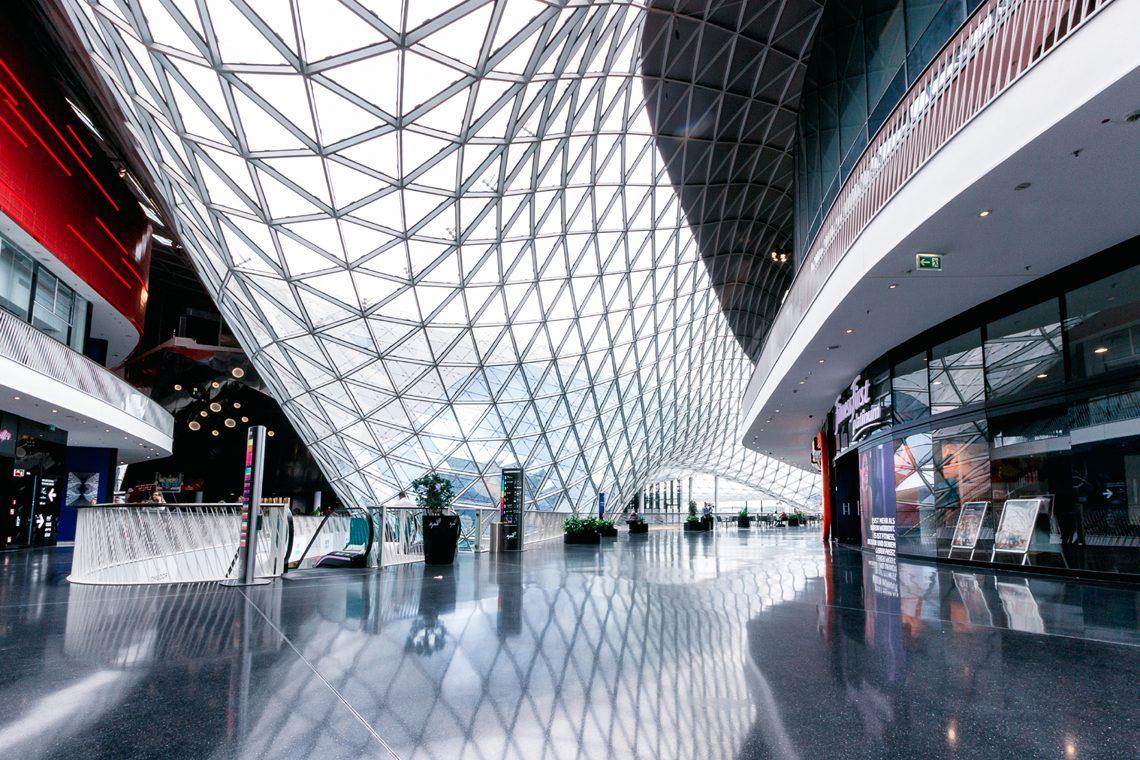 Futuristic architecture 9 by Norbert Fritz