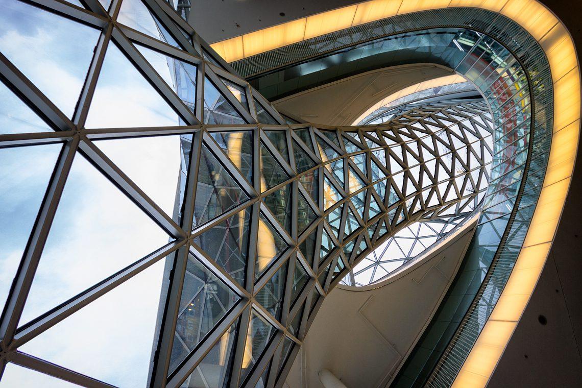 Futuristic architecture by Norbert Fritz