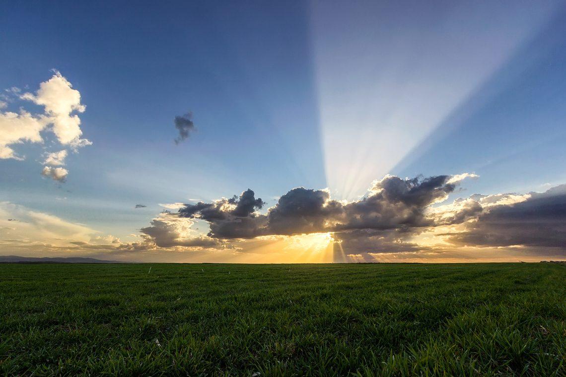 Sunbeams by Norbert Fritz