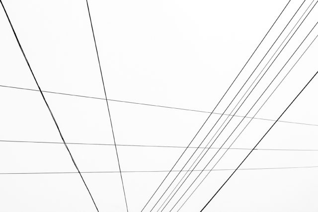 Wired space No. 2 by Norbert Fritz
