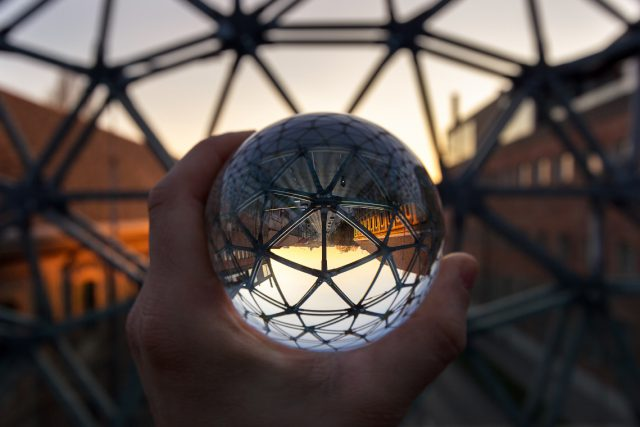 Lattice sphere by Norbert Fritz
